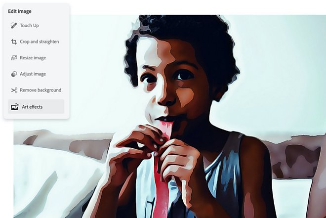 Рисунок мальчика с тянучкой