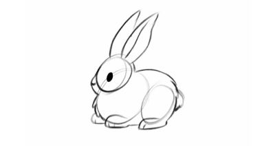 How To Draw A Bunny Step By Step Adobe