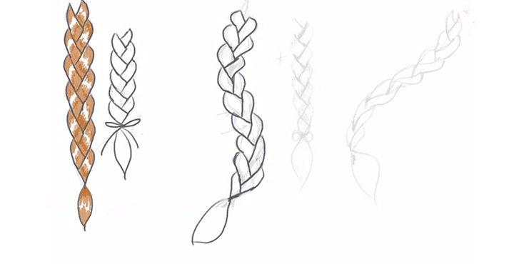 How To Draw Braids Adobe