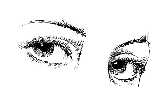 How To Draw Eyes In A Few Simple Steps Adobe
